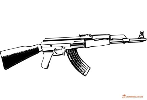 gun coloring pages gun coloring pages and print for free