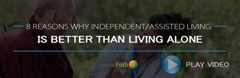 8 Reasons Why I Like Living Alone 8 reasons why assisted living is better than living alone