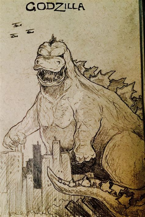 doodle god artifacts godzilla godzilla sketch by bendewitt on deviantart