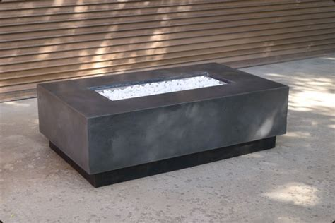 Kitchens Furniture Concrete Pete Rectangular Firepit Raleigh Nc