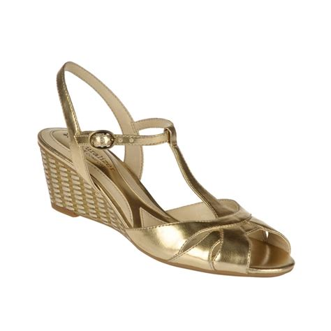 Wedges Gold 1 gold wedge sandals gold wedge shoes