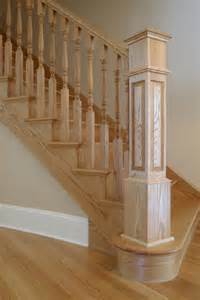 Stair Rail Post by Bennett Stair Company Inc Box Newels