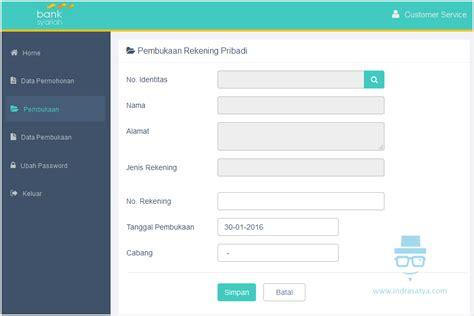 pembukaan rekening bca secara online sistem informasi permohonan pembukaan rekening pribadi