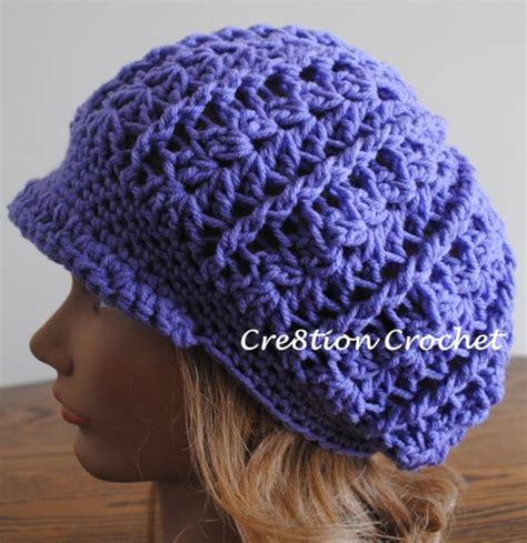free pattern newsboy hat free crochet slouchy newsboy hat pattern myideasbedroom com