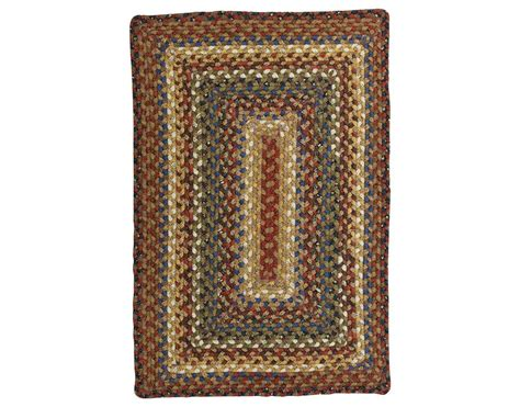 Homespice Decor Cotton Braided Rectangular Brown Area Rug Rectangular Braided Area Rugs
