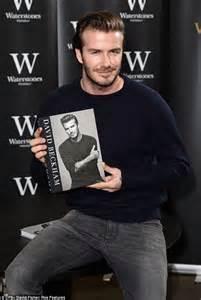 david beckham autobiography david beckham is his usual self at self titled