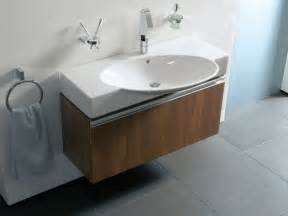 Modern Bathroom Sink Units Vitra Espace Wall Hung Basin Units Contemporary