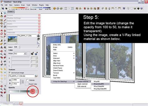 vray sketchup mirror material tutorial glass reflection effect sketchup and v ray v ray for