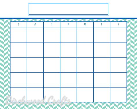 8x10 calendar template printable monthly calendar template for framed by