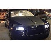 French Rapper Booba Gets His Rolls Royce Wraith Blacked