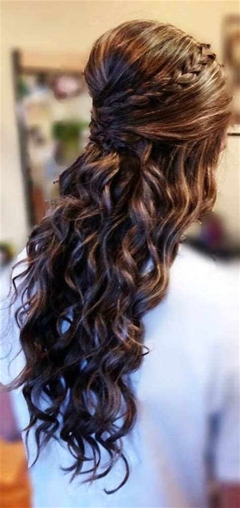 homecoming curly hairstyles splendid curly homecoming hairstyles for charming look