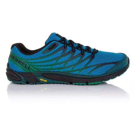 blue sneakers mens merrell bare access 4 mens blue sneakers running sports