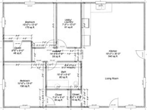 30x40 Barn House Plans House Design Plans Metal Pole Barn House Floor Plans