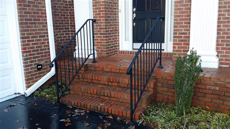 exterior banister iron x exterior handrails stair solution