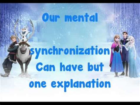 Frozen Is An Open Door Lyrics by