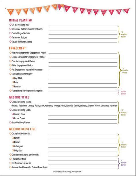 10 list of wedding preparation best templates best templates