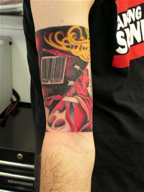 barcode tattoo condom barcode tattoos damn cool pictures