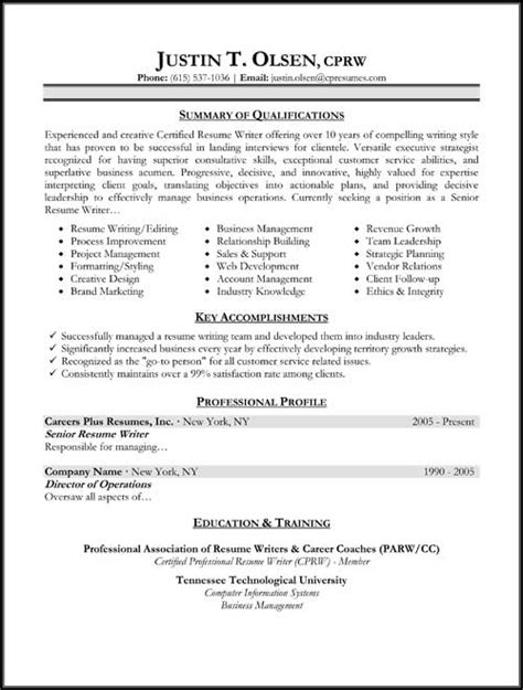 10 different types of resume formats writing resume sample