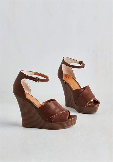 Wedges Shoes Caramel Brown Cross Sling 66001 132 best images about shoes on ankle socks dining and flats