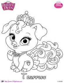 disney palace pets coloring pages