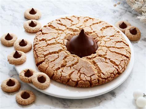 giant peanut butter blossom cookie recipe food network