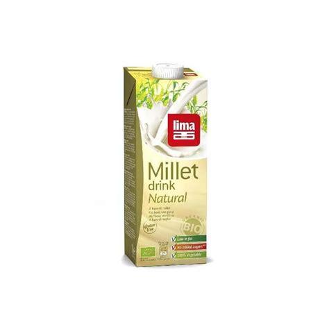 zonnebloemolie door toilet lima millet gierst drink 1000ml