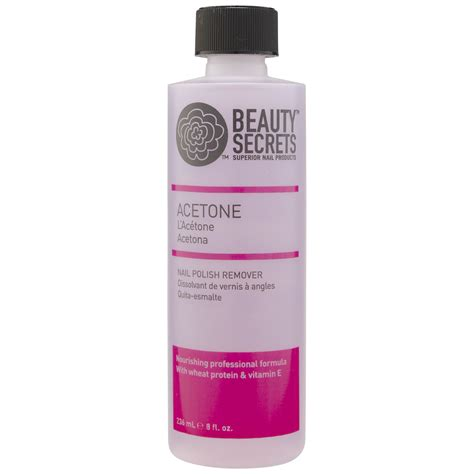Nail Remover by Acetone Nourishing Nail Remover
