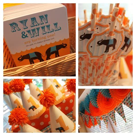 birthday themes for twin boy and girl twin girl first birthday party themes