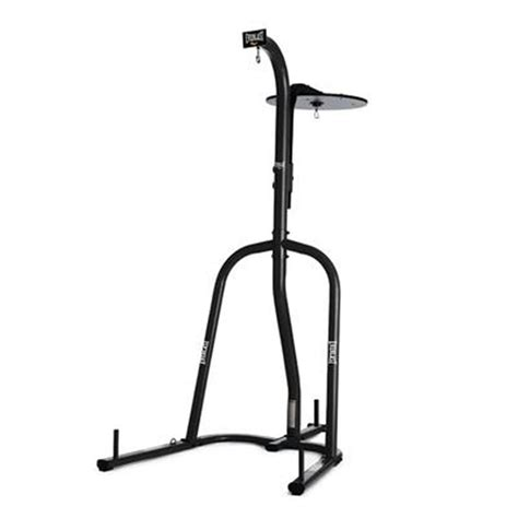 everlast 174 black dual heavy bag stand