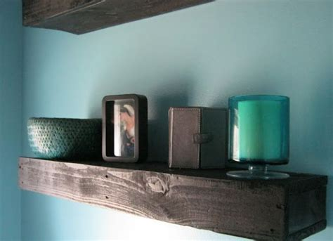 pallet wood floating shelf with pallets