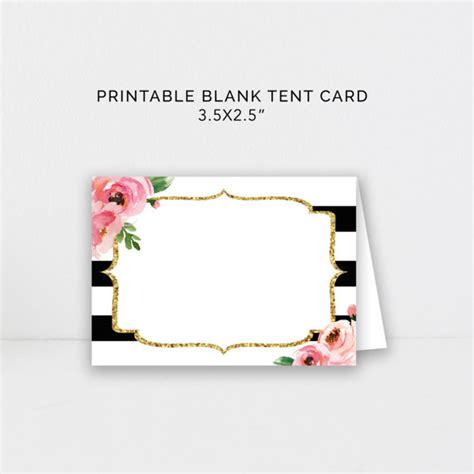 printable bridal shower place cards food tent cards kate wedding place cards bridal shower