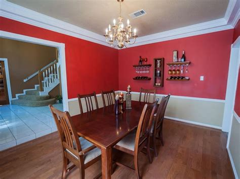 Two Tone Dining Room Wall Colors - cheerful white two tone wall paint ideas feats vintage