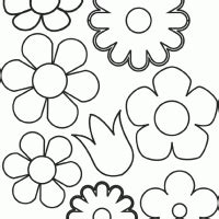 coloring pages of different types of flowers math coloring sheets rose flower coloring pages printable