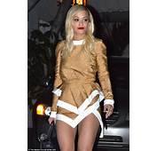 Rita Ora Shows Off Her Super Toned Legs In A Bottom