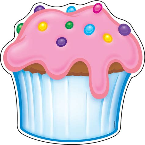 printable cupcake images 6 best images of cupcake printable template for preschool
