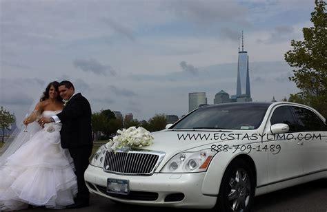 white maybach 62 for weddings in nyc new york white