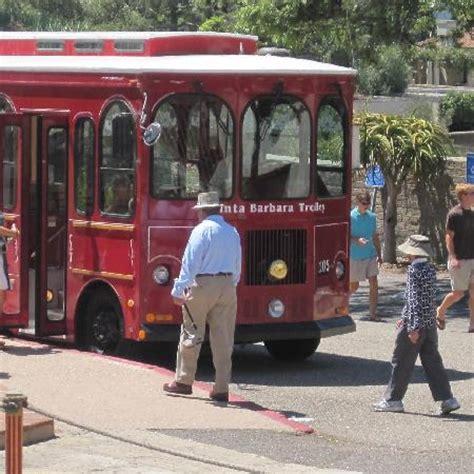 santa barbara trolley of lights santa barbara trolley great way to see the city