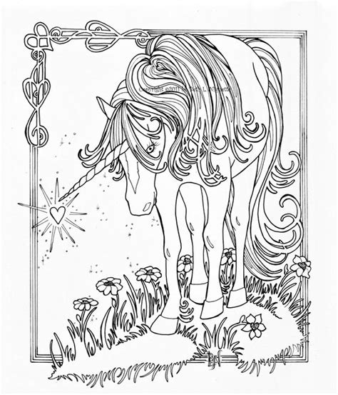 unicorn coloring pages  adults unicorn  wings