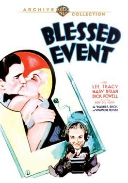 the blessed event blessed event