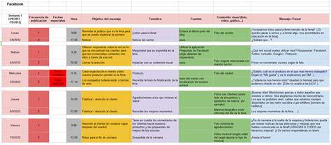 Calendã E Social Como Crear Un Calendario De Contenidos Para Social Media