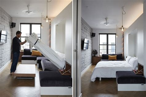 Tiny Appartment by Nyc Micro Apartments Curbed Ny
