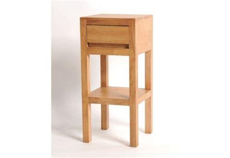 le de chevet nature meuble de chevet haut h 233 v 233 a massif naturel 1 tiroir