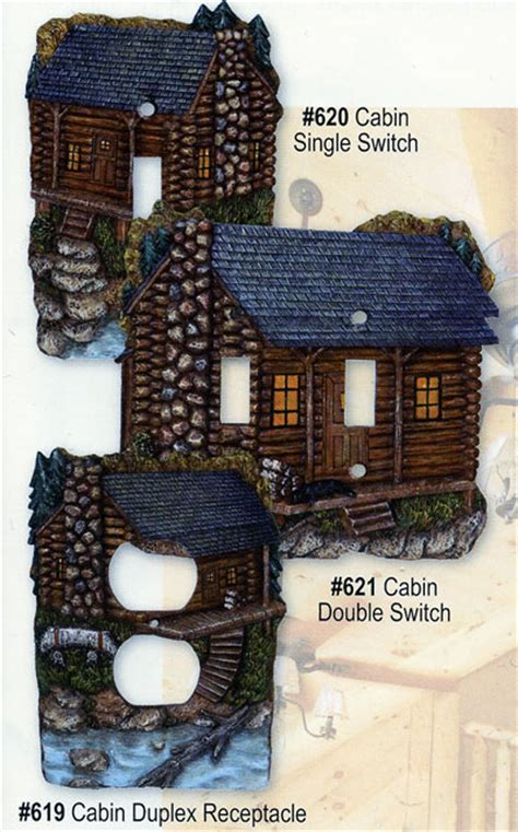 Cabin Decor Outlet by Cabin Switch Plate And Outlet Plate Covers