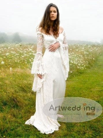 Pagan Style Wedding Dresses by Pagan Wedding Dress Country Weddings Baby