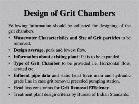 design criteria for incineration physical unit operations