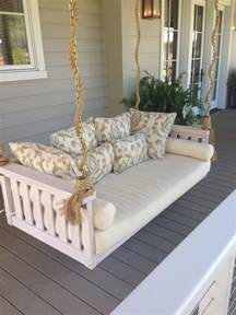 porch swing bed outdoor livin pinterest porch