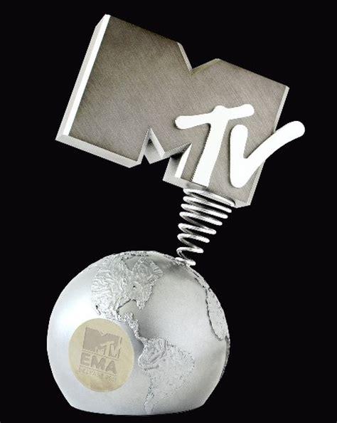 Mtv Europe Awards by 2016 Mtv Ema Awards Trophy Mtv Europe Awards Metal