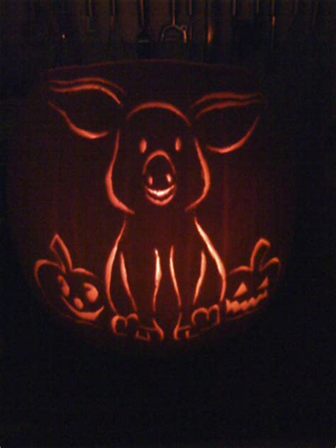 pig pumpkin template october 171 2011 171 the daily morsel