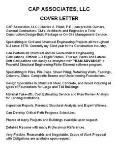 Cover Letter Company by Expertise