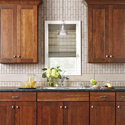 Cheap Glass Tiles For Kitchen Backsplashes by Three Kitchen Makeovers